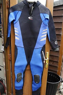 Northern Diver Delta Flex 6mm Size XL Scuba Diving Semidry Wetsuit Hardly used