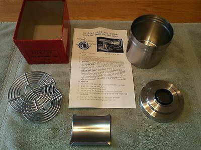 Nikor Film Developing Tank For 120-620 Film W/ Box & Instructions Usa