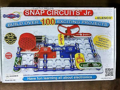 Elenco® Snap Circuits® Jr. SC-100 Electronics Kit- Over 100 Projects! COMPLETE