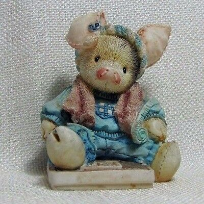 Enesco TLP 1994 This Little Piggy Had None by Mary Rhyner