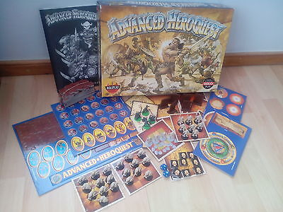 Vintage Advanced Heroquest. Fantasy Boardgame. Games Workshop. Complete.