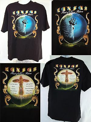 """KANSAS """"Point of Know Return"""" T-Shirt  XL Concert T-Shirt Father's Day Gift"""