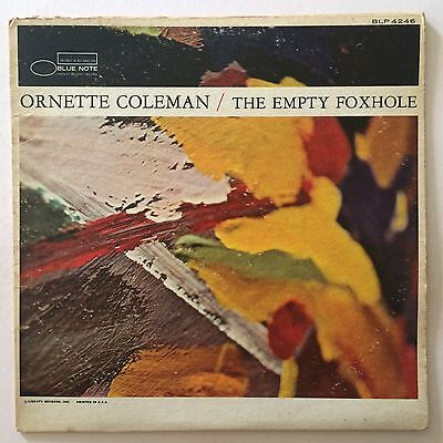ORNETTE COLEMAN - THE EMPTY FOXHOLE - Orig US Mono Blue Note Liberty LP
