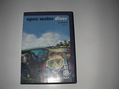 PADI Open Water Scuba Diver Student New Training Course DVD A