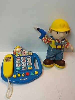 Bob the Builder Toys, Soft Toy Figure and Activity Telephone
