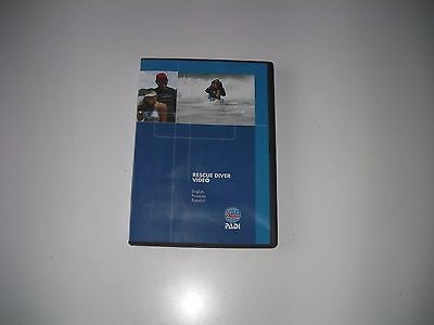 PADI Rescue Scuba Diving Student DVD Training Course A