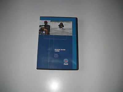 PADI Rescue Scuba Diving Student DVD Training Course B