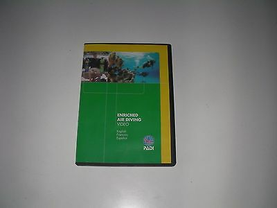 PADI Enriched Air EANx Nitrox Specialty Scuba Diving Student Training Course DVD