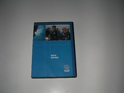 PADI Boat Diving Specialty Scuba Diving Student Training Course DVD