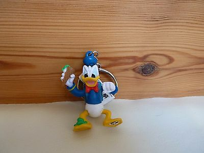 Authentic Disney WDW Donald Duck figure Keyring key ring Keychain handbag Charm