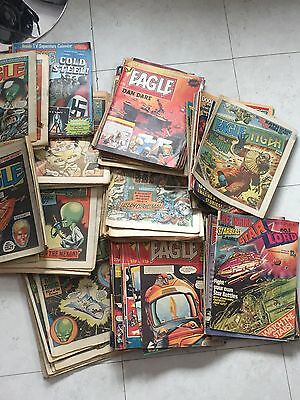 Very Large Bundle Of 1980's Eagle Comics Over 170