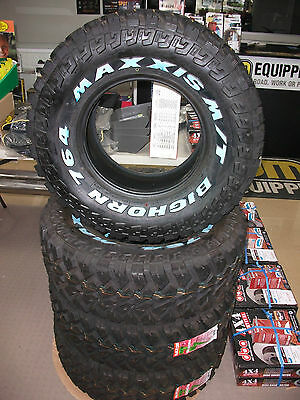 Maxxis Bighorn     Mt764     Mud Tyres     31X10.5R15Lt        Set Of 4