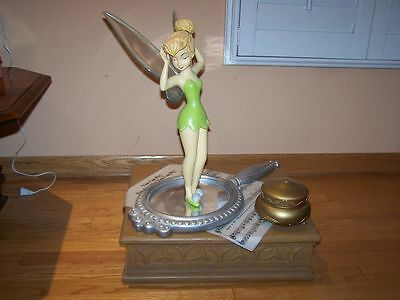 Tinker Bell Mirror Musical Resin Big Fig Figurine Tinkerbell Figure in Box WOW!