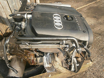 AUDI A4 A6 1.8 TURBO COMPLETE ENGINE WITH TURBO (code BFB)