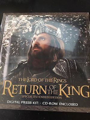 Return of the King Special Extended Edition DVD Digital Press Kit SEALED Rare