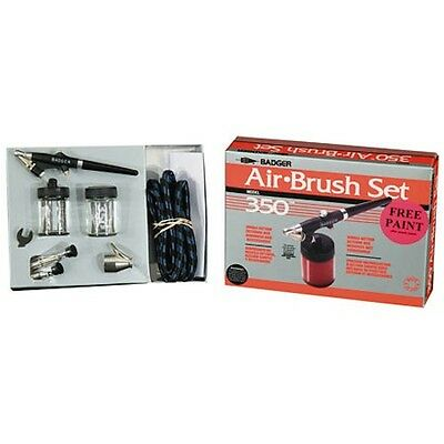 Badger 3504 350 Airbrush Set with 3 Heads (F, M, H)