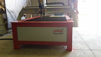 CNC Plasma Table Panther 1325 1.3x2.5m cutting area build to last great buy