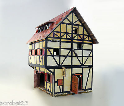Building TAVERN War Games Terrain Landscape Scenery Middle Ages 25-28 mm