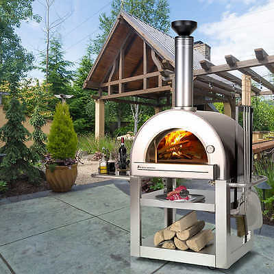 Forno Venetzia Pronto 500 Outdoor Wood Burning Pizza Oven