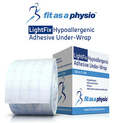 Sports Tape Hypoallergenic Adhesive Under-Wrap | 5cm x 10M Roll