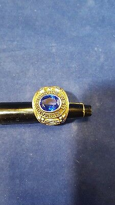 Vintage United States Navy USN SUBMARINE SERVICE RING  STAMPED ALPHA CO. SZ 8