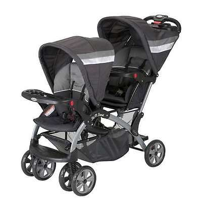 Baby Trend Sit N Stand Double Twin Baby Toddler Stroller, Liberty (Open Box)