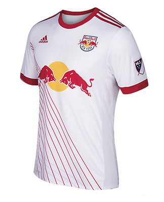 New York Red Bulls Soccer Home Shirt 2017/18- Personalised Name/No Available