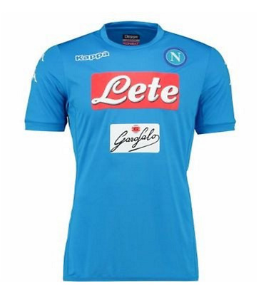Napoli Football Soccer Home or Away Shirt 2016/17 Personalised name/no available