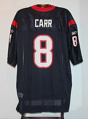 Maillot Trikot Jersey Foot Américain Nfl Us David Carr Houston Texans XXL