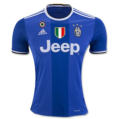 Juventus Away Football Jersey 2016/17 - Personalised name/no available