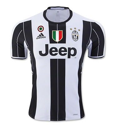 Juventus Football Soccer Home Shirt 2016/17 - Personalised Name/No Available