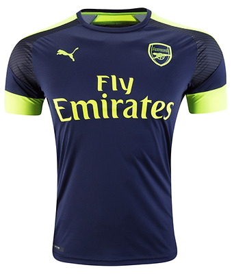 Arsenal Football Soccer 3rd Away Shirt 2016/17 - Personalised name/no available