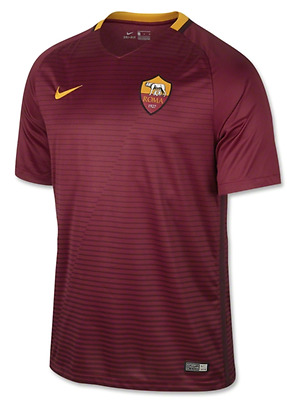AS Roma Football Soccer Home Shirt 2016/17- Personalised name/no available