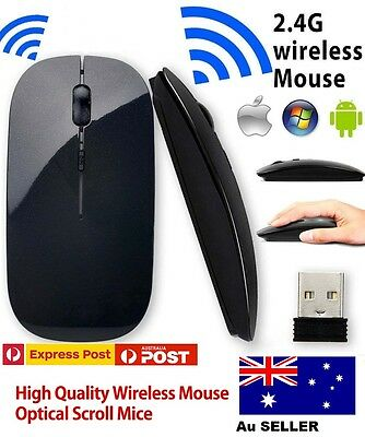 Aus M185 1000DPI 2.4GHz Optical Wireless  Mouse Cordless Long Life For Laptop PC