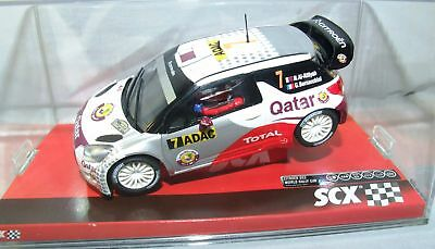 "SCX 10a10120 Citroen DS3 "" Qatar "" 1:3 2 Analogue NIP"