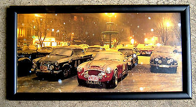 Austin-Healey 3000 at The 1984 Monte Carlo Challenge Car Rally - Framed Photo