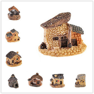 Cute Fairy Garden Miniature House Craft Micro Landscape Ornament Decor WWS