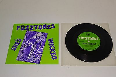 "THE FUZZTONES SHE'S WICKED 1985 ABC / BBC 1st PRESS 7"" + P/S - Near Mint Vinyl"