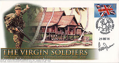 """Malaya & Borneo 40th Anniv Virgin Soldiers """"Special"""" - Signed LESLIE THOMAS"""