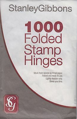 Stanley Gibbons Stamp Hinges Packet of 1000