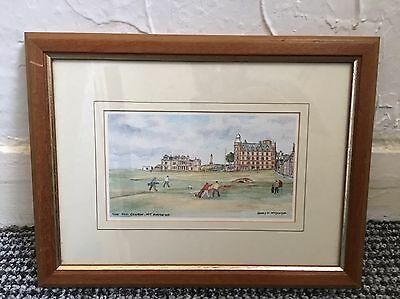Harry F. McGegor The Old Course, St. Andrews Print