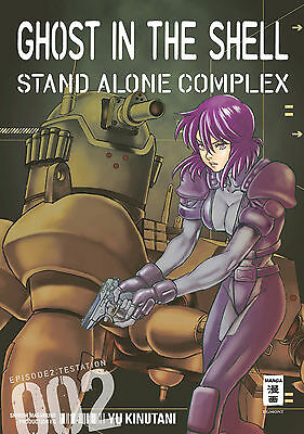 GHOST IN THE SHELL: Stand Alone Complex * Band 2 * Manga * neu + portofrei