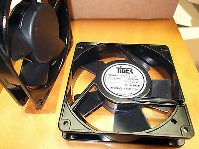 Fan 110 120 Volts ac 120 mm Fans Cooling Tiger 119 x119x25.4mm Sleeve Term 1pc
