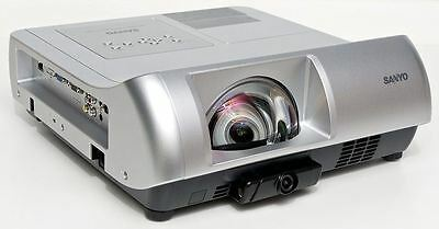 Sanyo PLC-WL2503 3LCD Short Throw Projector 2500 Lumens HDMI Discolouration
