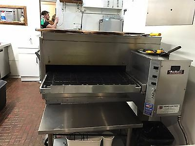 """Lincoln Impinger 1400 Series 32"""" Inch Gas Conveyor Pizza Oven"""