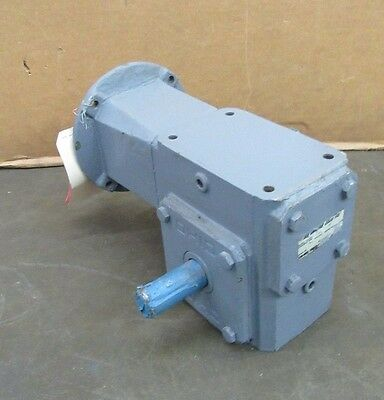 Ohio Gear B2206-25C-Mq56C 25:1 Ratio Right Angle Gearbox Speed Reducer