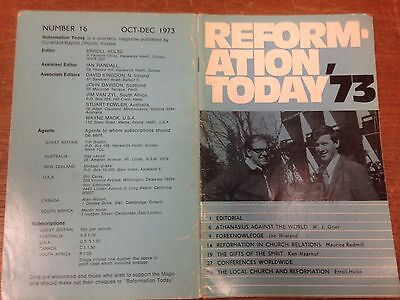 Reformation Today magazine, Issue 16 October- December 1973