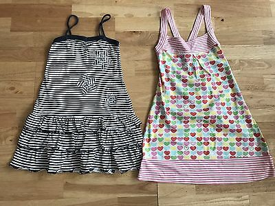 Bundle X 2 Girls Next Summer Dresses Age 8 And 9