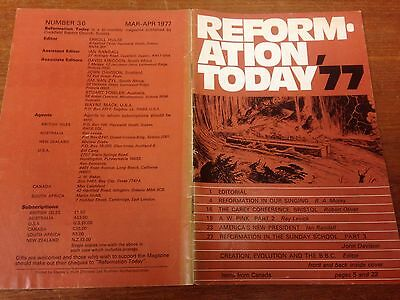 Reformation Today magazine, Issue 36 March- April 1977