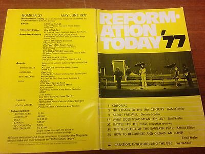 Reformation Today magazine, Issue 37 May- June 1977